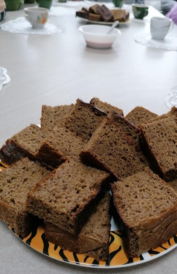 Namai, pakvipo kepamos duonos kvapu